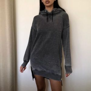 Hoodie sweater dress